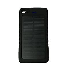 8000mAhteho pankki ulkoinen akku Aurinkopaneelilataus / Takulamppu 8000 Output :1000mA Aurinkopaneelilataus / Takulamppu