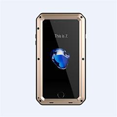 Til iPhone 8 iPhone 8 Plus iPhone 7 iPhone 6 iPhone 5 etui Etuier Stødsikker Heldækkende Etui Rustning Hårdt Metal for Apple iPhone 8