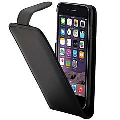 Για Θήκη iPhone 7 / Θήκη iPhone 6 / Θήκη iPhone 5 Θήκη καρτών / Ανοιγόμενη tok Πλήρης κάλυψη tok Μονόχρωμη Σκληρή Συνθετικό δέρμα Apple