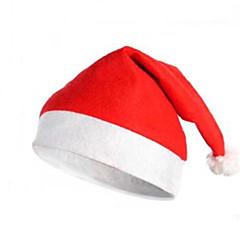 Καπέλα Γιορτές/Διακοπές Κοστούμια Halloween Κόκκινο / Λευκό Χριστούγεννα Γιούνισεξ Πολυεστέρας