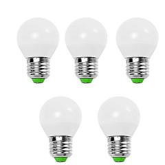 5w e14 / e26 / e27 led világító izzók g45 12 smd 2835 450 lm meleg fehér / hűvös fehér dekoratív v 5 db