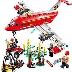 액션 피규어&인형 조립식 블럭 선물 조립식 블럭 비행기 지게차 5 - 7 세 8 - 13 세 14세이상 장난감