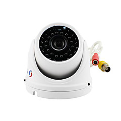 yanse® 1000tvl μέταλλο αλουμίνιο δ / n IR CCTV κάμερα 36 οδήγησε θόλο αδιάβροχο ενσύρματο 711cfw