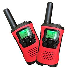 kinderen walkie talkies 22 kanalen en back-lit LCD-scherm (tot 6 km in open gebieden) walkie talkies voor kinderen (1 paar) T48