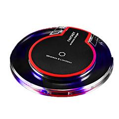 qi langaton maksu 5v 1a langaton laturi pad Samsung s8 s7 tai muita sisäänrakennettu qi vastaanotin älypuhelin