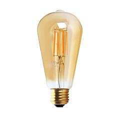 1 sztuka GMY E26 3W 4 COB ≥300 lm Ciepła biel ST21 edison Postarzane Żarówka dekoracyjna LED AC 110-130 V