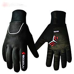BOODUN® Rękawiczki sportowe Damskie / Męskie Cyklistické rukavice Zima Rękawice roweroweKeep Warm / Anti-zrywka / Wstrząsoodporny /
