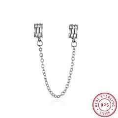 euramerican stílusban népszerű divat ékszerek 925 ezüst biztonsági lánccal tartozékok
