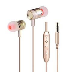 Neutral produkt KDK-203 I Øret-Hovedtelefoner (I Ørekanalen)ForMedieafspiller/Tablet Mobiltelefon ComputerWithMed Mikrofon DJ FM Radio