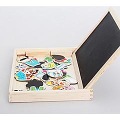 بانوراما الألغاز ألعاب تربوية اللبنات DIY اللعب 1 خشب