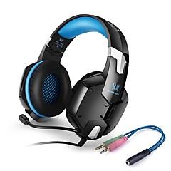 KOTION ΚΑΘΕ G1200 ΑκουστικάΚεφαλής(Με Λουράκι στο Κεφάλι)ForΚινητό Τηλέφωνο ΥπολογιστήςWithΜε Μικρόφωνο Έλεγχος Έντασης Ηλεκτρονικό