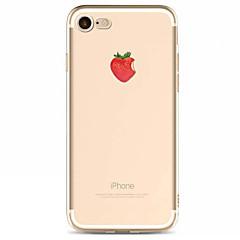 Na iPhone X iPhone 8 iPhone 7 iPhone 6 Etui iPhone 5 Etui Pokrowce Wzór Etui na tył Kılıf Owoc Miękkie Poliuretan termoplastyczny na Apple