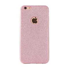 Til iPhone X iPhone 8 Etuier Syrematteret Bagcover Etui Glitterskin Blødt TPU for Apple iPhone X iPhone 8 Plus iPhone 8 iPhone 7 Plus