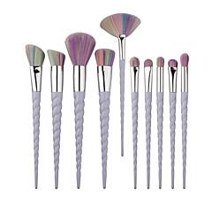 10 Brush Lavastus Poskipunasivellin Luomivärisivellin Huulisivellin Peitevoidesivellin Viuhkasivellin Alusvoidesivellin Contour Brush