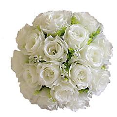 1 Κλαδί Πολυεστέρας Τριαντάφυλλα Λουλούδι για Τραπέζι Ψεύτικα λουλούδια 30*30*35