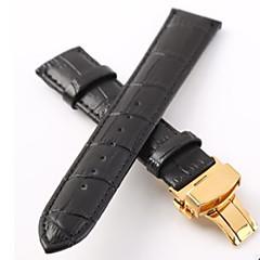 erkek / women'swatch bantları inek derisi 18mm izle aksesuarları