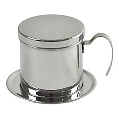 ml Ανοξείδωτο Ατσάλι Φίλτρο καφέ , 1 κούπα ετοιμάζω καφέ Κατασκευαστής Επαναχρησιμοποιήσιμο