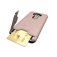 voor asus zenfone 3 ze552kl (5,5) gevaldekking kaarthouder schokbestendig met voet achterkant