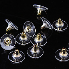 Mulheres Parte de Trás do Brinco Básico bijuterias Prata Chapeada Chapeado Dourado Jóias Jóias Para Diário Casual