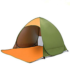 2 kişi Çadır Namiot plażowy Tek Kamp çadırı Bir Oda Namiot plażowy Isı Yalıtımı Nemgeçirmez İyi Havalandırılmış Su Geçirmez Taşınabilir
