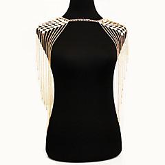 Naisten Kehokorut Body Ketju / vatsa ketju Nature Muoti Bohemia Style Metalliseos Kulta Korut Varten Erikoistilaisuus Kausaliteetti 1kpl
