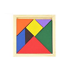 Legpuzzels Educatief speelgoed Houten puzzels Bouw blokken DHZ-speelgoed Vierkant 1