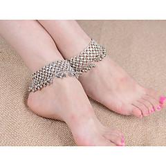 Dame Brățară Gleznă/Brățări Piatră Preţioasă Aliaj La modă Vintage Argintiu Femei Bijuterii Pentru Petrecere Casual 1 buc