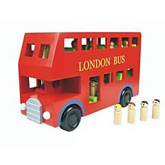 조립식 블럭 교육용 장난감 선물 조립식 블럭 버스 나무 2 - 4 세 5 - 7 세 장난감