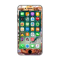 1 db Karcolásvédő Virág Átlátszó szintetikus Matrica Sötétben világító Minta MertiPhone 7 Plus iPhone 7 iPhone 6s Plus/6 Plus iPhone 6s/6