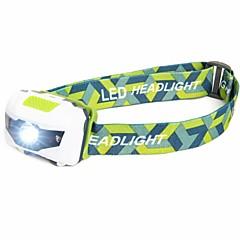 Hoofdlampen LED 500 Lumens 4.0 Modus LED Batterijen niet inbegrepen Waterbestendig Noodgeval Super Light Lichtgewicht voor
