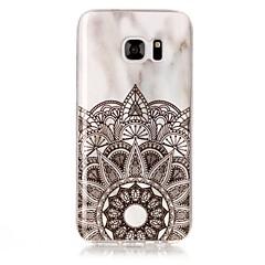 Samsung Galaxy s8 s8 plusz burkolata márvány mintás TPU anyag IMD kézműves telefon esetében s3 s4 s5 s6 s7 s6 él s7 szélén