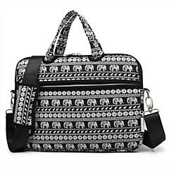 13.3 14.1 15.6 ίντσα χαριτωμένο ζώο ελέφαντα φορητό υπολογιστή ώμου τσάντα με τσάντα χειρός ιμάντα για επιφάνεια / dell / hp / samsung /
