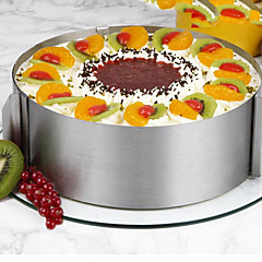 26Darab / készlet süteményformákba Kör Újdonság Mert főzőedények Cake Rozsamentes acél AcélTöbb funkciós Kreatív Konyha Gadget Nem tapad