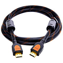 HDMI 2.0 Kablo, HDMI 2.0 to HDMI 2.0 Kablo Erkek - Erkek Altın kaplamalı bakır 1.5M (5 ft)