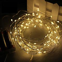 3m baterii 30led 3aa zasilany 4.5V wodoodporna dekoracji doprowadziły miedziany drut ciąg świateł na Boże Narodzenie festiwalu wesele