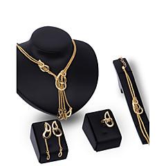 Damskie Zestawy biżuterii Rhinestone Modny Postarzane Osobiste euroamerykańskiej luksusowa biżuteria Wyrazista biżuteria biżuteria