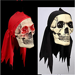 할로윈 장식 항목 그 트릭 트릭 완구 눈을 것입니다 붉은 스카프 두개골 괴상한 소품 테러 컬러 랜덤
