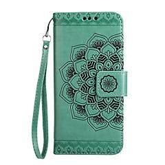 Taske til motorola moto g5 plus g5 cover kortholder tegnebog flip præget mønster fuld krop telefon taske mandala blomst hårdt pu læder
