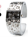 Женские Модные часы Наручные часы Часы-браслет Имитационная Четырехугольник Часы Имитация Алмазный Кварцевый Группа Кольцеобразный