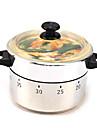 압력 밥솥 모양의 스테인레스 스틸은 60 분 부엌에서 요리 기계적 타이머