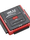 """고속 SATA 및 IDE 2.5 USB 3.0 """"& 3.5""""드라이브 어댑터"""