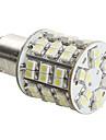 1157 4W 60x3528 SMD White Light LED Bulb for Car Brake Lamp (DC 12V)