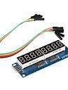 8 X 일곱 세그먼트 디스플레이 모듈 (Arduino를위한) (595 드라이버)