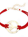 eruner®golden alliage chromé anti-guerre bracelet en tissu de motif (couleurs assorties)