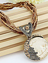 Women\'s Pendant Necklaces Vintage Necklaces Alloy Bohemia Ivory Jewelry Daily