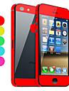 Защитная пленка на iPhone 5 (разные цвета)