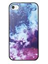 Мечтательно звездное небо Pattern задняя крышка для iPhone 4/4S