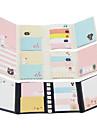 Jogo dos desenhos animados dobrar auto-stick nota (cor aleatoria)