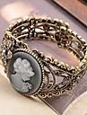 Королева Аватара Ретро резные полые металлический браслет B160