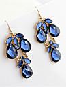 Boucle Boucles d'oreille goutte Bijoux Femme Soirée / Quotidien Cristal / Alliage Bleu KAYSHINE